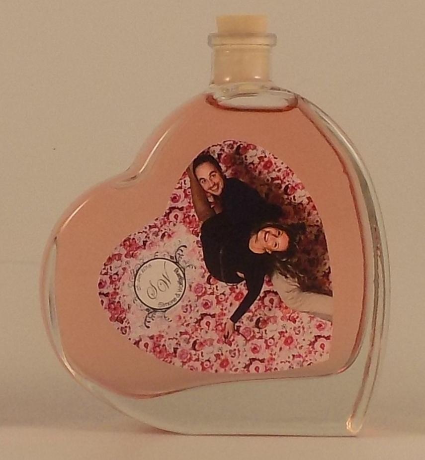 Herzflasche, Flasche in Herzform