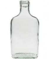 0,04 Liter Flasche in Form einer Brustflasche
