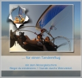 Motorschirm Tandemgutschein Sonnenaufgangsflug 1 Stunde