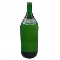 2 Liter Flasche mit Schankwein rot und weiss