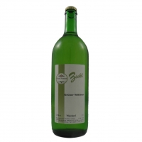 1 Liter Flasche mit  Schankwein weiss
